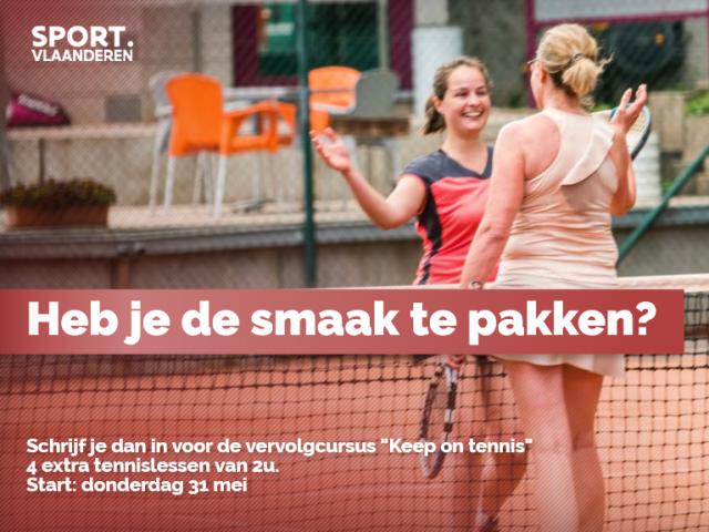 keep on tennis